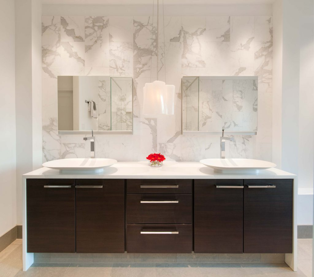 Washington DC modern bathroom design