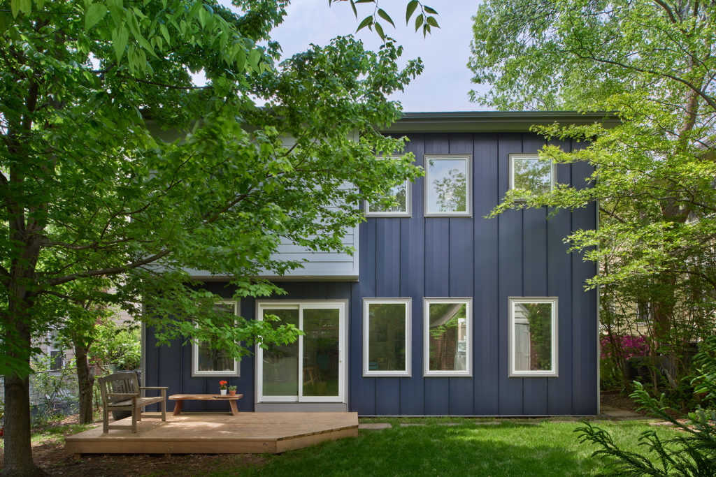Eco-friendly Addition, Steel Exterior